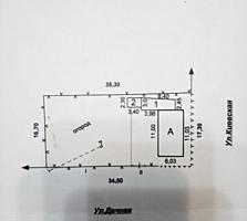 3-комнатный дом на Хомутяновке, 44 кв. м, участок 6 соток. Торг