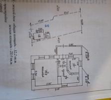 Дом из самана на участке 6 соток, свет и газ в доме, вода на улице