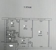 Центр Бендеры 1/5 комнаты раздельные