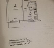 Продается 1-комнатная квартира Красные Казармы