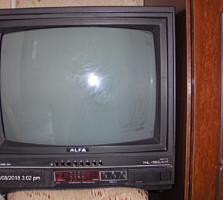 Продам цветной телевизор Альфа с КОРЕЙСКИМ кинескопом, торг возможен