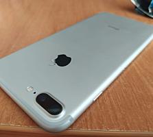Продам iPhone 7+, silver, 128Gb, GSM.