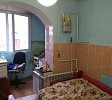 1-комнатная 4/5 эт. Текстильщики, 34 м2. Перепланирована в 2-комнатную