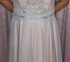 Вечернее платье новое пр-во Польша 50-52 размер 850 лей.