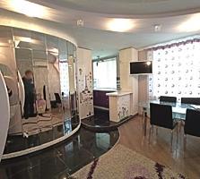 Продаётся 3-х ком квартира, центр, 67м2, евроремонт, автономка, мебель