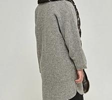 Пальто серое Mila Nova
