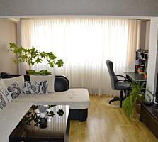 3 км. квартира 74 кв. м. с мебелью и техникой, cовременная, уютная