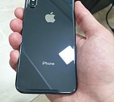 Iphone X черного цвета на 256gb CDMA и GSM