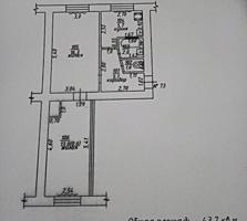 БОРИСОВКА 2-к жилая кв. 1/5 44/29,6 на окнах решетки СРОЧНО
