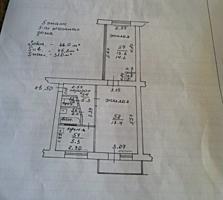 "Собственник. 2-комн. квартира, Бородинка, р-н ""Криково"", 5/5,15000 уе."