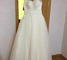 Продается шикарное свадебное платье!