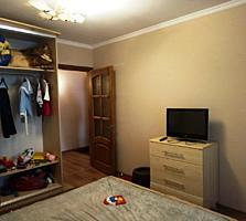 Пентагон. 3 комнаты. Ремонт, мебель, техника. 5/9 эт.