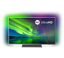 Philips 55pus7504/12, led smart ultra hd 4k, hdr, ambilight, 139 cm