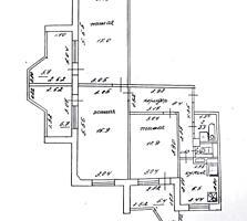 Борисовка, 3-комнатная квартира, 1/9 эт, подготовлена под ремонт