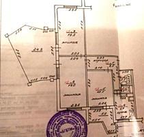 ПРОСТОРНАЯ 3-к кв. на 4 эт. в 9-эт. доме с переходной лоджией 26 кв. м