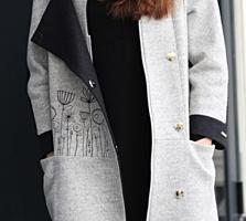 Кашемировое пальто/ осень-весна