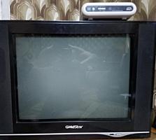 Продам телевизор GoldStar с декодером.