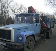 ГАЗ 3307 манипулятор