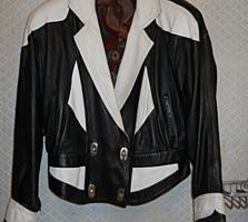 Продам куртку и пиджак с натуральной кожи размеры: 46