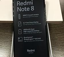 Сяоми Redmi Note 8 черный (Space Black) 4/64