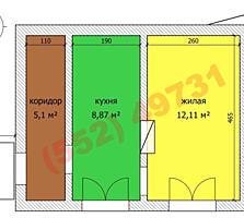 Продается 1-комнатная квартира на Балке
