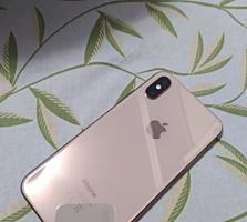 Продам GSM iPhone XS Gold /256 gb+Оригинальный кабель, наушники и чехол