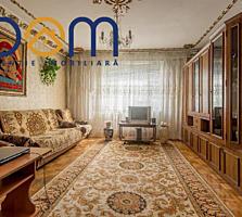 Apartament cu 3 camere, 72 m. p, 3 balcoane, s. 143, Centru str. Ismai