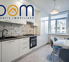 Apartament cu 2 camere separate, 66m2, design individual, bloc nou