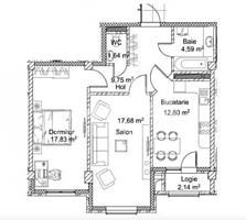 De și suprafața de în complex locativ rezidențial de elită. Spaţiile .