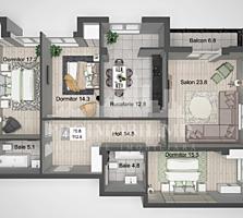 """în complexul rezidențial """"Liviu Deleanu"""" care este situat în"""