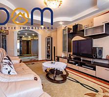 Apartament cu 3 camere în bloc nou, nivelul 2, reparație-euro, mobilă,
