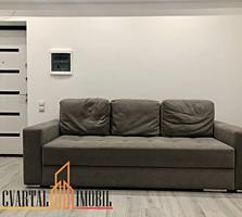 Apartament cu 1 odaie + living intr-un bloc nou cu vecini prietenoși .
