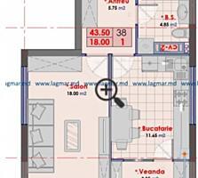 Spre vânzare apartament cu 1cameră în bloc nou, situat în sect. ...