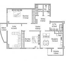 """În vânzare apartament cu 3camere în Complex Locativ """"HEFEST""""care .."""