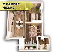 """Ofertă nouă în complexul """"Royal Residence"""", apartament cu 2 camer"""