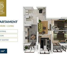 Spre vânzare apartament cu 3 camere este amplasat în sectorul Centru,