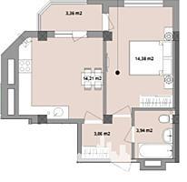 Spre vânzare apartament cu 1 cameră în Complexul rezidențial ...