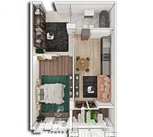 Spre vânzare apartament cu 1 cameră, amplasat pe str. Alba Iulia din