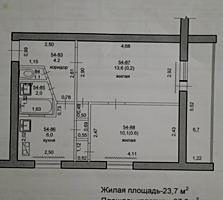 Продам 2-комнатную или обменяю на 3-комнатную квартиру
