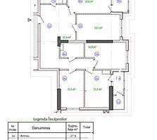 Spre vânzare apartament cu 4 camere, amplasat în sectorul Centru, pe .