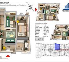Vă propunem acest apartament cu 2camere, sectorul Botanica,str. bd.