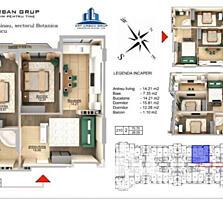 Se oferă spre vânzare apartament cu 2 camere în variantă albă ...