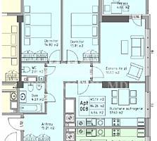 Blocul rezidențial Belvedere este amplasat într-o zonă verde cu ...