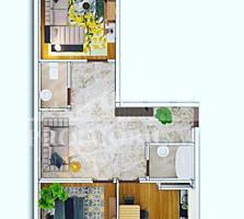 Spre vânzare apartament cu 2 camere și suprafața de 68 mp, în ...