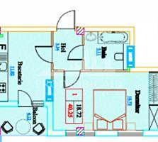 Vă prezentăm un apartament cu оcameră și suprafața de 40 mp, ...