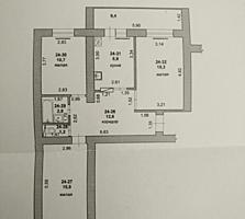 Большая 3 комнатная квартира