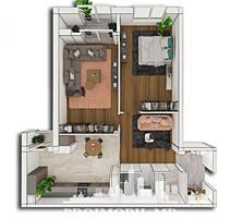 Spre vânzare apartament cu 2 camere modernă amplasată pe str. Alba .
