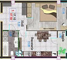 """Spre vânzare apartament cu 1 cameră în complexul rezidențial """"Li"""