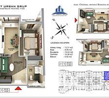 Se oferă spre vânzare apartament cu 1 cameră în variantă albă ...