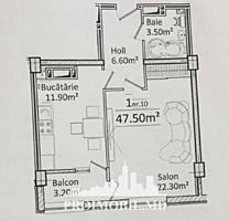 Vă propunem acest apartament cu1 cameră, sectorul Ciocana, str. I. ..